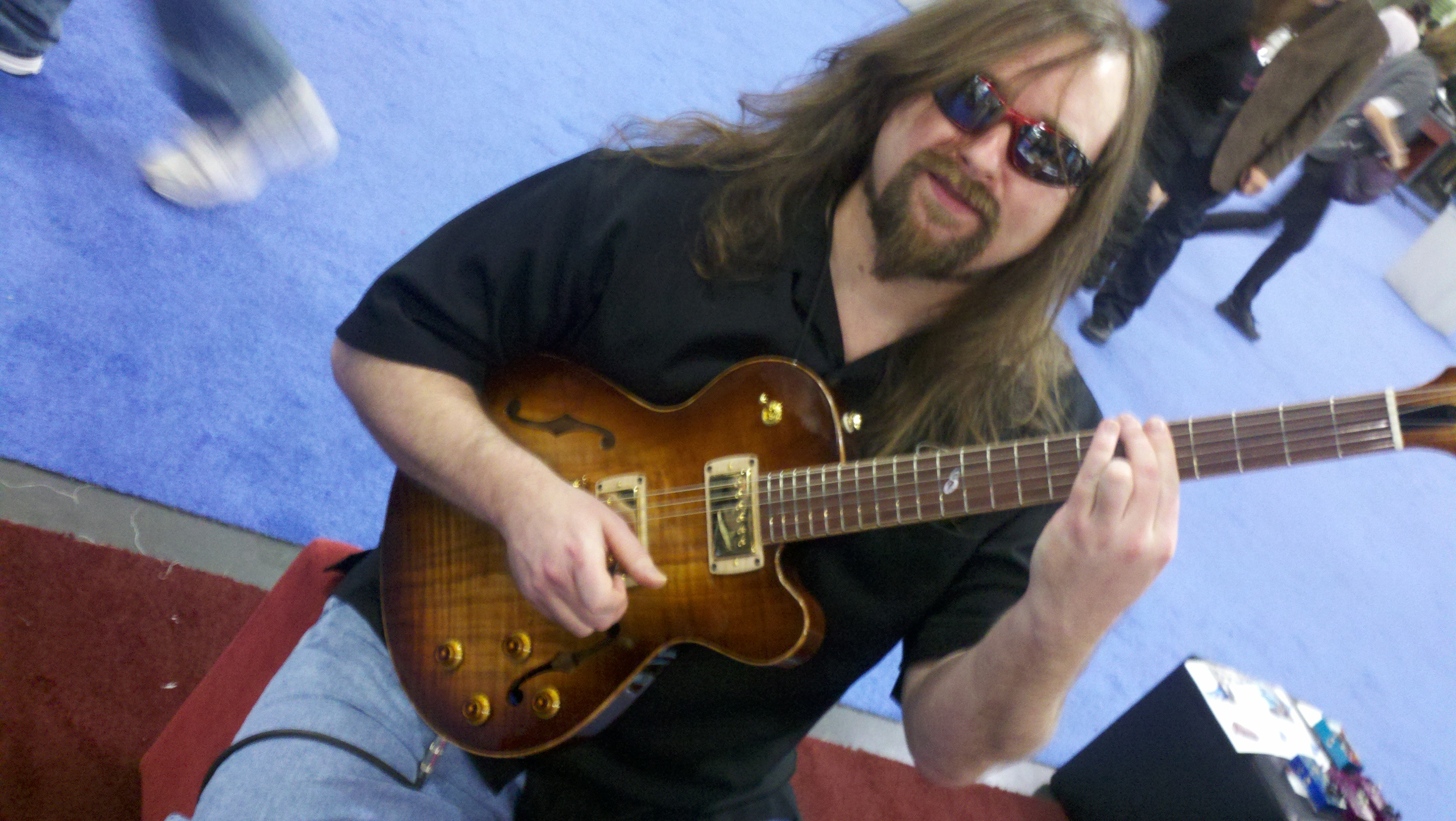 sweetwood guitar co blog knowledge base jay roberts the prodigal son of fusion legend howard roberts who has a gibson model d after him we are currently in the works of creating a